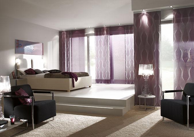 Vorhangsystem Flächenvorhänge bereichern jeden Raum